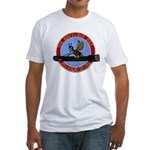 USS BALAO Fitted T-Shirt