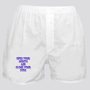 Open your mouth boxer shorts