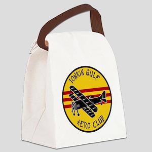 Tonkin Aero Club Canvas Lunch Bag