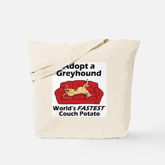Fastest Couch Potato Tote Bag