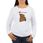 3-loveypoos Long Sleeve T-Shirt