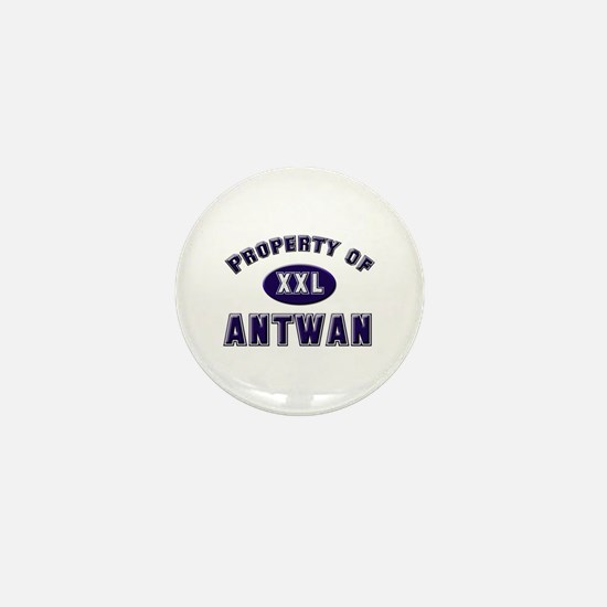Property of antwan Mini Button
