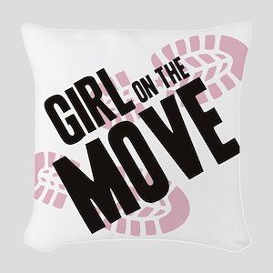 girlmove Woven Throw Pillow