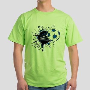 Soccer Ball Burs T-Shirt