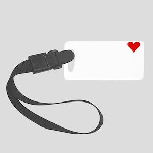 Big Heart Light Small Luggage Tag
