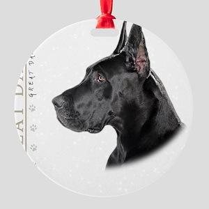 portrait11 Round Ornament