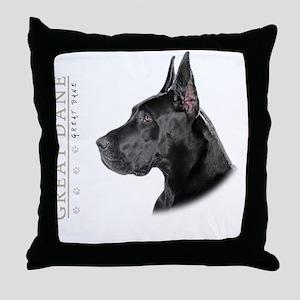 portrait11 Throw Pillow