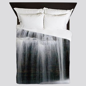 water_rush Queen Duvet