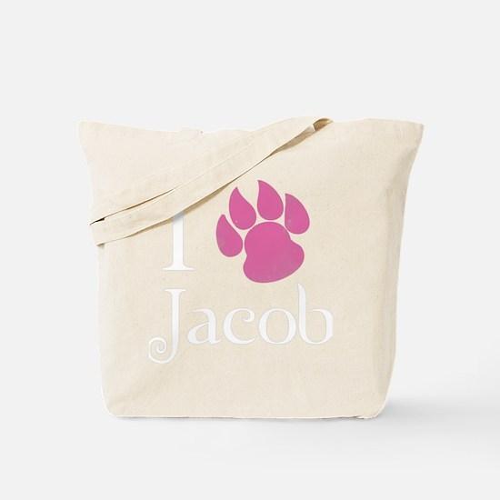 iLoveJacob4 Tote Bag