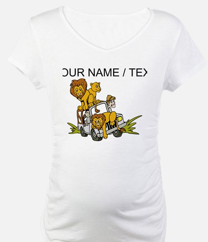 Custom African Lion Safari Shirt