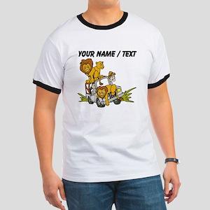 Custom African Lion Safari T-Shirt
