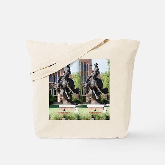 new horse logo -- statue Tote Bag