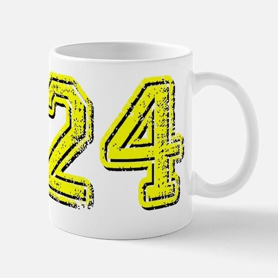 24yellow-u Mug