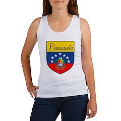 Venezuela Flag Crest Shield Women's Tank Top