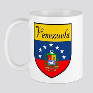 Venezuela Flag Crest Shield Mug