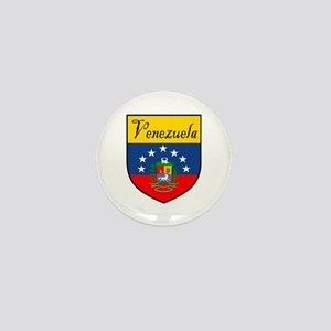Venezuela Flag Crest Shield Mini Button (10 pack)