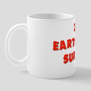 Earthquake 2 flat Mug