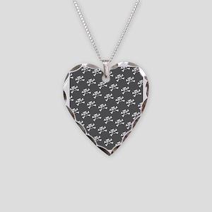 BHNW_BullieSkullsGREY_flip_fl Necklace Heart Charm