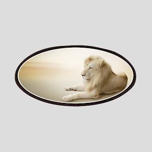 White Lion Patch