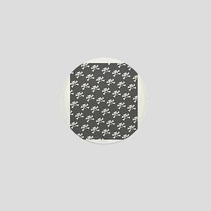 BHNW_BullieSkullsGREY_flip_flops Mini Button