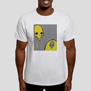 FlipFlop_PunkSkull_BlkGrnGry Light T-Shirt