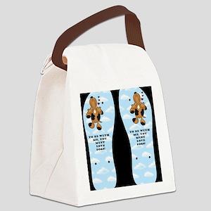 mustlovedogs Canvas Lunch Bag