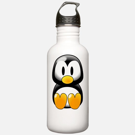 Cartoon Penguin Water Bottle