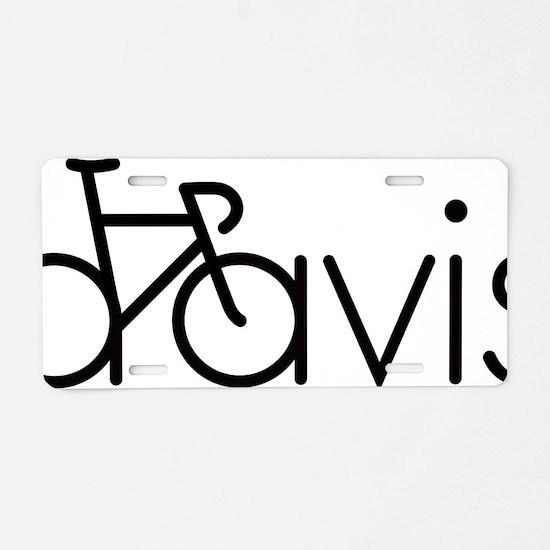 davis Aluminum License Plate