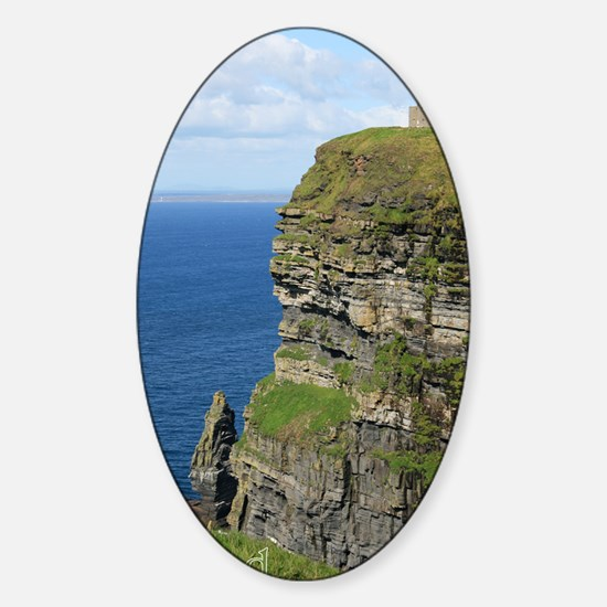 Ireland 01 text Sticker (Oval)