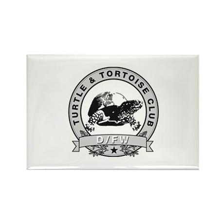 DFW Turtle & Tortoise Club Rectangle Magnet (100 p