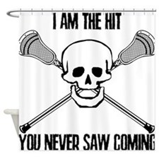 Lacrosse Never Saw Shower Curtain