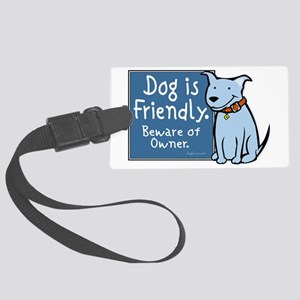 dogisfriendly Large Luggage Tag