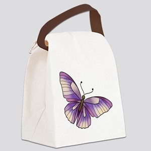 butterfly3 Canvas Lunch Bag