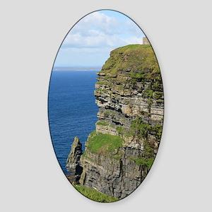 Ireland 01 no text Sticker (Oval)