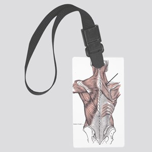 Musculus_rhomboideus_minor Large Luggage Tag