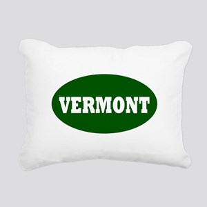 vermont template  Rectangular Canvas Pillow