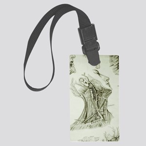 head and neck Large Luggage Tag