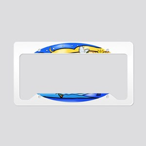 SeaTurtle 8 - OVAL License Plate Holder