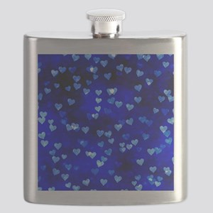 BlueHearts Flask