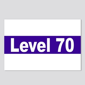 Level 70 Postcards (Package of 8)