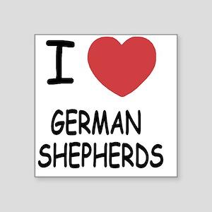 "GERMAN_SHEPHERDS Square Sticker 3"" x 3"""