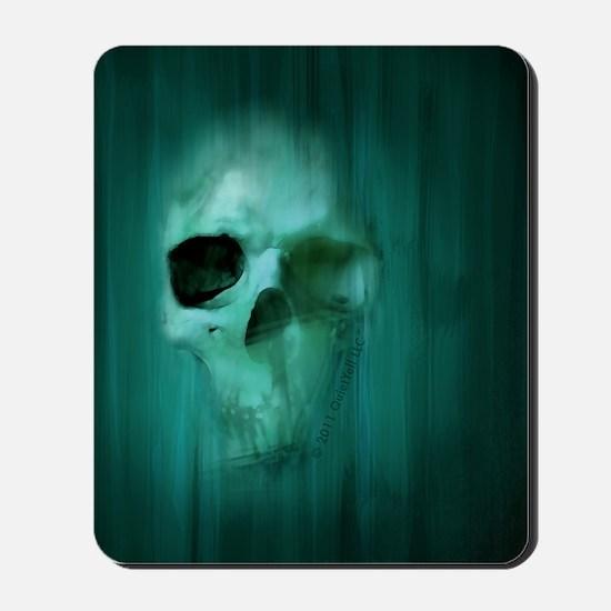05_AggressiveSkull_BLU Mousepad