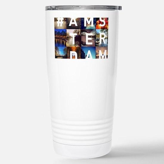 #AMSTERDAM Stainless Steel Travel Mug