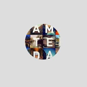 #AMSTERDAM Mini Button