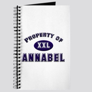 Property of annabel Journal