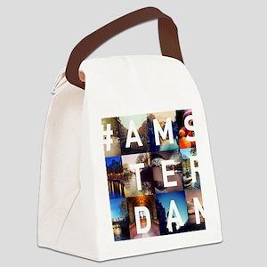 #AMSTERDAM Canvas Lunch Bag