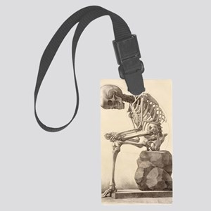 artistic skeleton 2 Large Luggage Tag