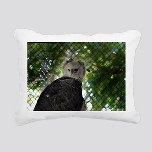 Harpy Eagle Rectangular Canvas Pillow