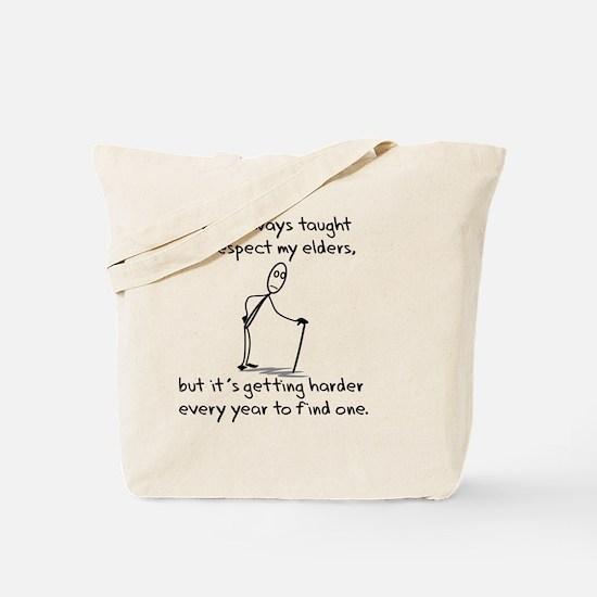 RespectElders Tote Bag