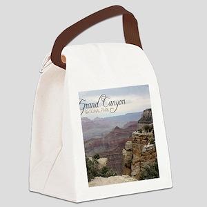 calendar_05b Canvas Lunch Bag
